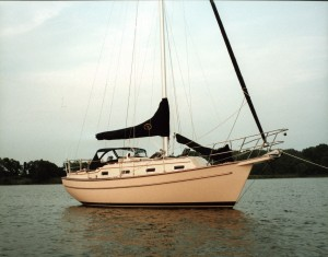 Ptarmigan, our 1991 Island Packet 29