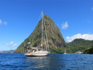 CL at Pitons