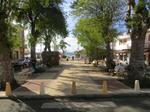 Church plaza