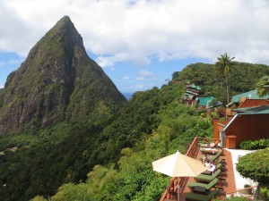 Petit Piton at Ladera