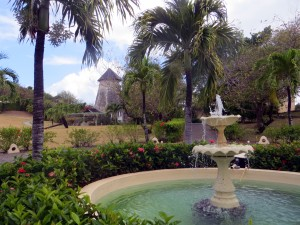 Sugar Mill and fountain
