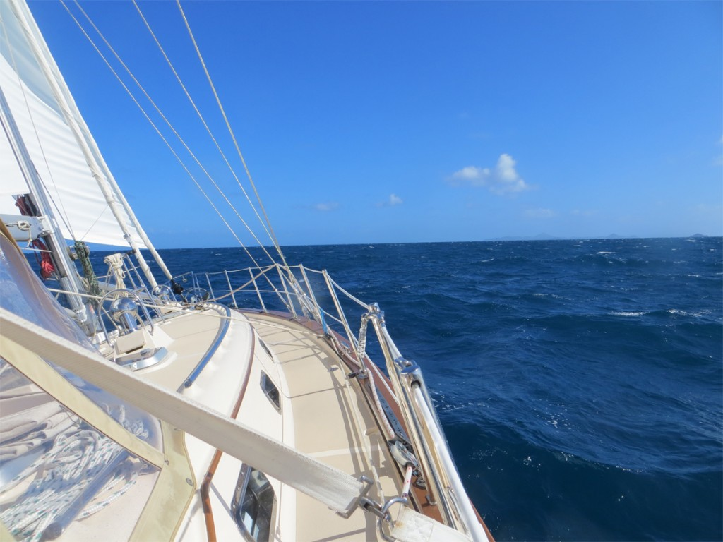 Under Sail to Bequia