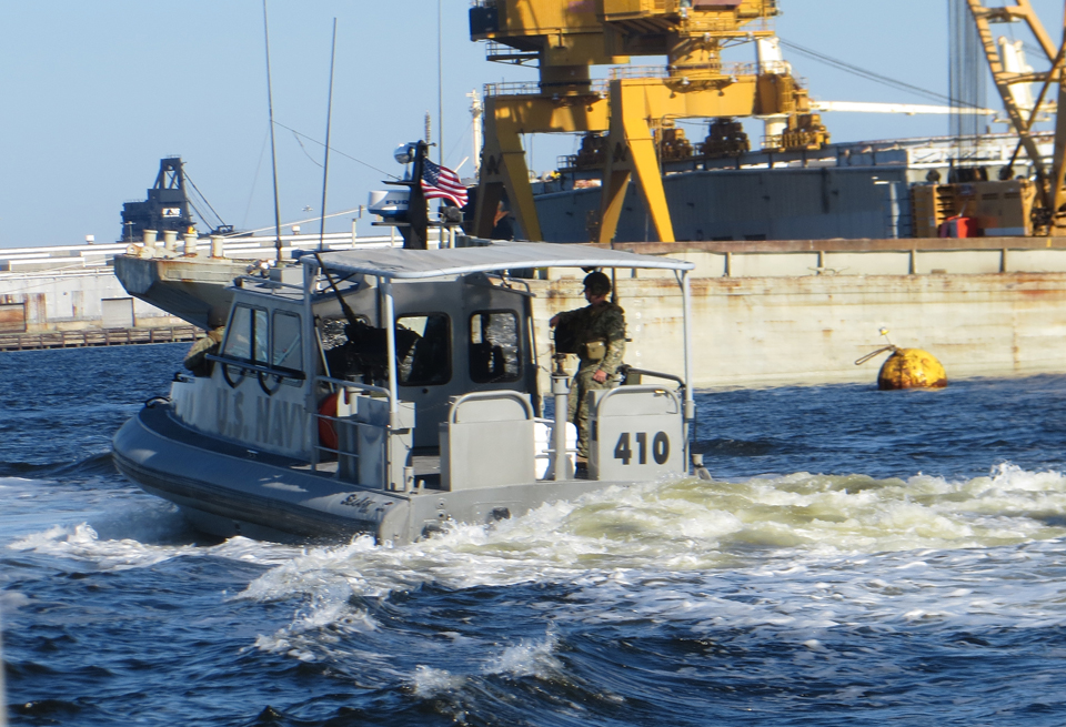 navy security boat