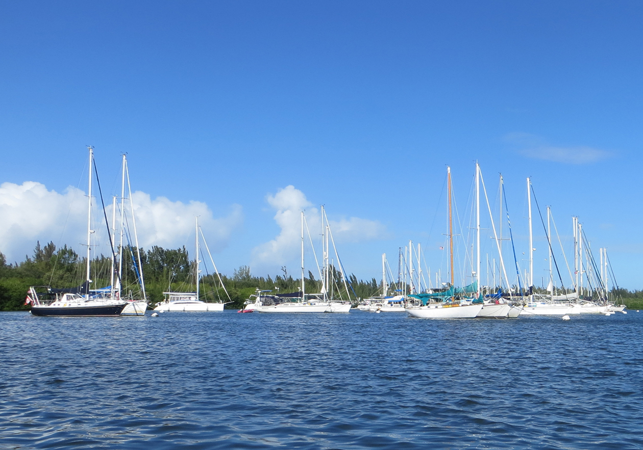 Vero Beach mooring field