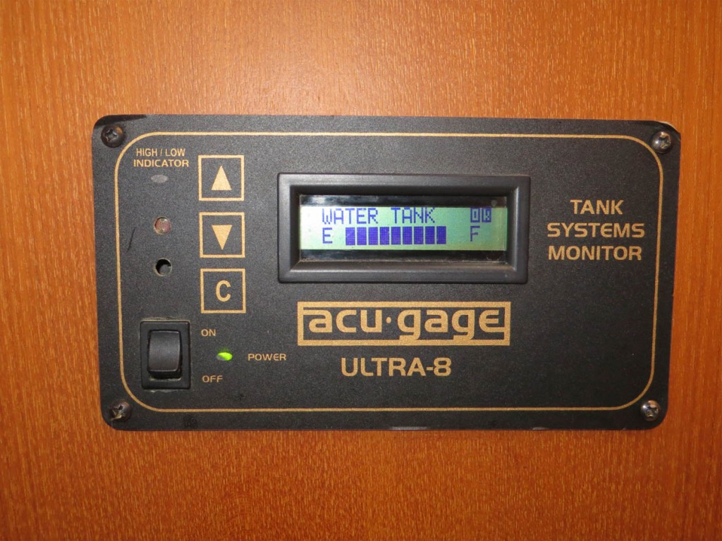 acu-gage water tank and holding tank monitor