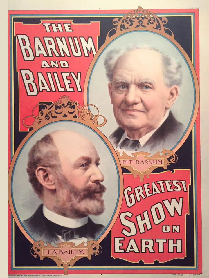 Barnum and Bailey Poster