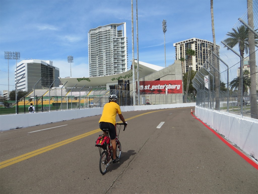 Cycling race course