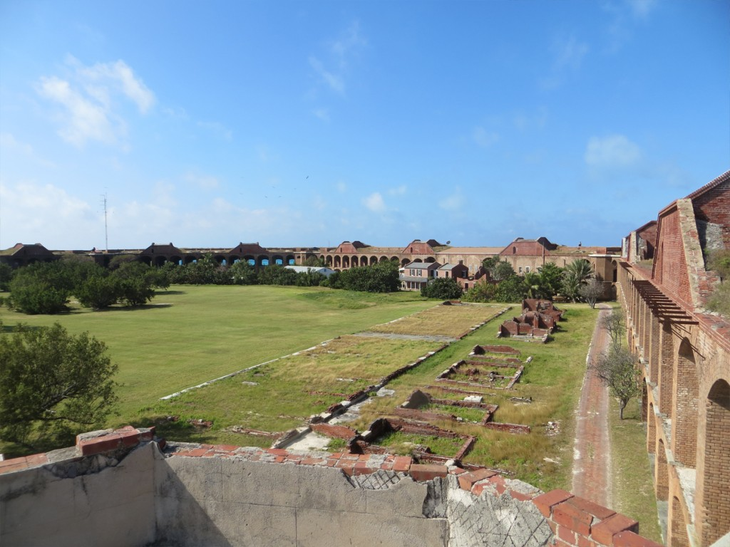 Fort inside area