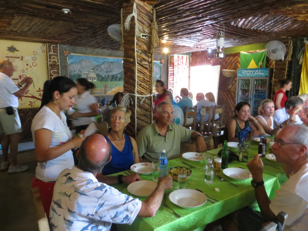 Lunch in Vinales