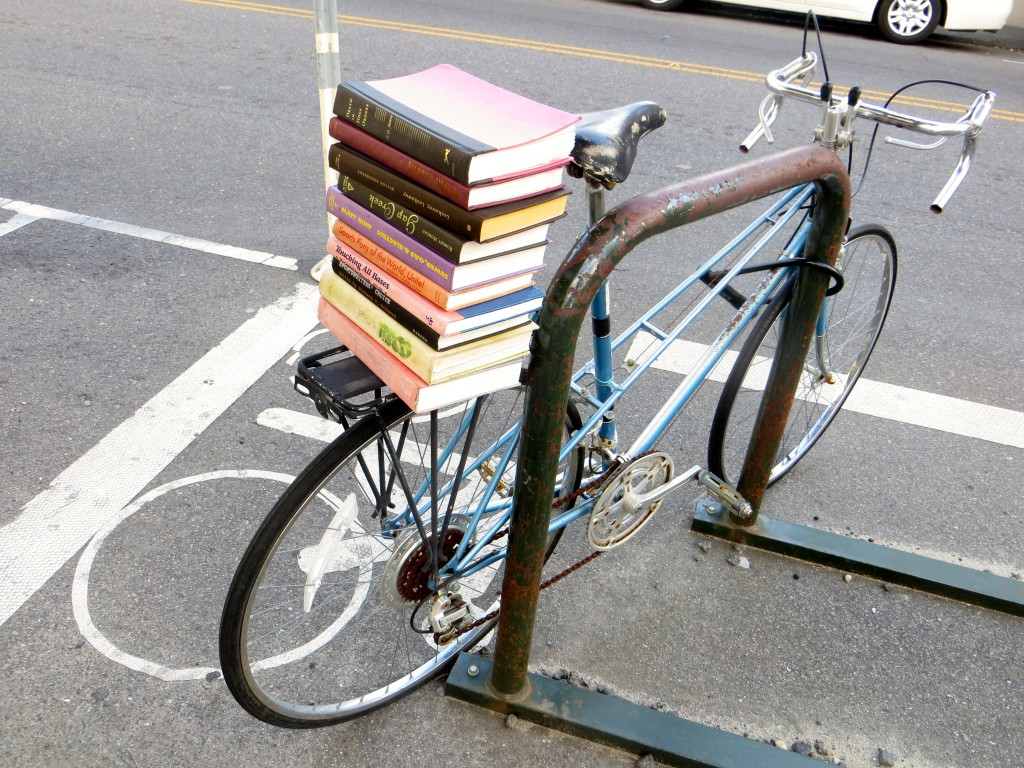 Bike with books
